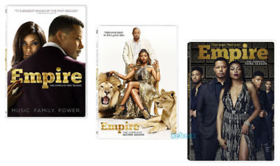 Empire: The Complete Series Seasons 1-3 (DVD, 2017, 14-Disc Box Set) 1 2 3 New