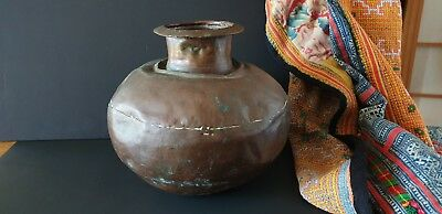 Old Northern India Copper Water Carrier …beautiful accent / collection piece