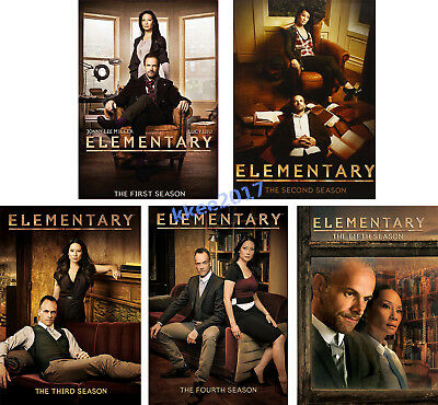 Elementary: The Complete Series Seasons 1-5 DVD Set / Season 1 2 3 4 & 5 New