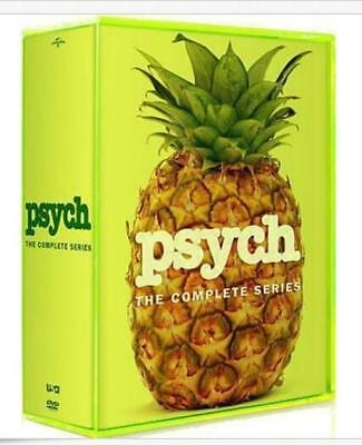 Psych: The Complete Series Season 1 2 3 4 5 6 7 8 ( DVD, 2014, 32-Disc Set)