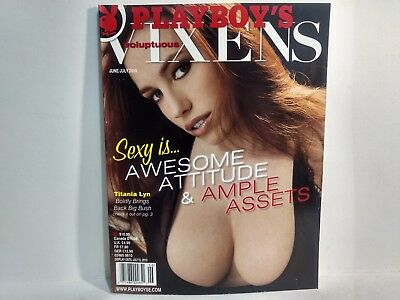 Rare Playboy's Voluptuous Vixens Magazine June/July 2010 Awesome Attitude eb1373