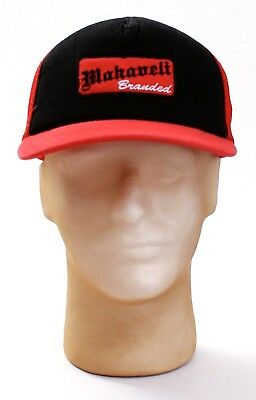 48731028ba3 NEW Red Monkey Sonora Mens Black Trucker Hat - One Size