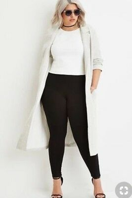 Women's Solid Leggings Stretch Pants Long Full Length One Size Plus 1X 2X 3X