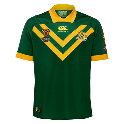 Australian Kangaroos Mens On Field Pro Jersey Sizes S-4XL BNWT