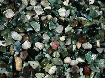 Gemstone Chips 50g Indian Agate Loose Beads Jewellery Jewelry DIY FREE POSTAGE