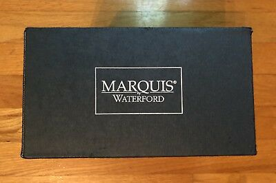 Marquis By Waterford Watercolor Collection Polka Dot 4 Glasses 16 Oz - Brand New