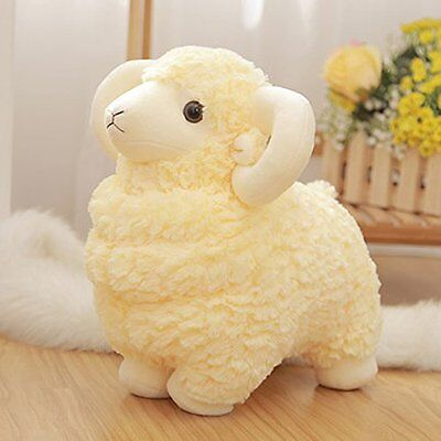 Luckstar Lamb Plush Doll 10 Creamy Cute And Soft Sheep Stuffed