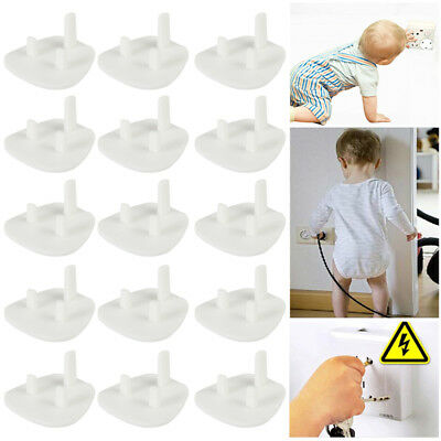 36 x Plug Socket Covers Babies Children's Safety Protector for UK 3 Pin Sockets
