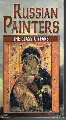 Russian Painters - The Classic Years (VHS, 2002) RARE HTF NEW 17th Century
