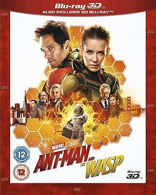 Ant-Man and the Wasp!! [3D + Blu-ray] [2018] [pre-order]