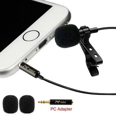 Professional #1 Best Lavalier Lapel Microphone Omnidirectional Condenser Youtube