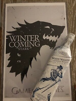 White Walker by Johnnie Walker SPECIAL LIMITED EDITION Game of Thrones SOLD OUT!