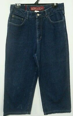 Quiksilver Loose Fit Vintage Blue Jeans Size 16 Baggy Riding Jeans Hip Hop Kids