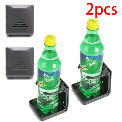 2PCS Folding Drink Bottle Holder Boat Marine Caravan Car Truck Mount Fish Box UK
