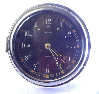 VINTAGE SALEM (US) SHiPS CLOCK