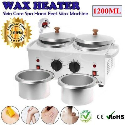 Warmer Handle Pot 1200ml Wax Waxing Heater Hair Removal Depilatory Paraffin