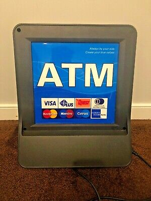 Hyosung Halo S ATM machine TOPPER, Lighted, Hyosung ATM Lighted Sign