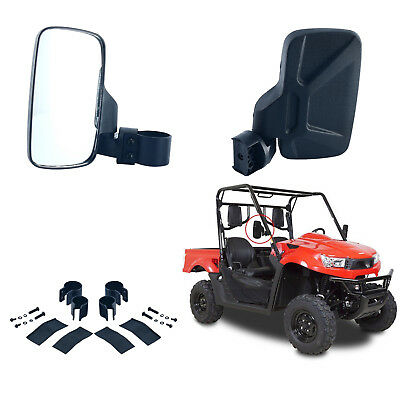 Side View Mirror Set for UTV Offroad High Impact Break-Away Large Wide View