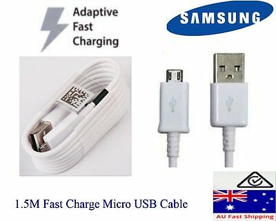 Genuine Samsung 1.5M Fast charging Micro USB cable cord for Galaxy S6,7 Note 4
