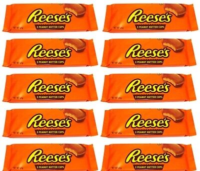 10x A 51g Reeses Peanut Butter Cups 3er 1 05 Pro 100g Weihnachts