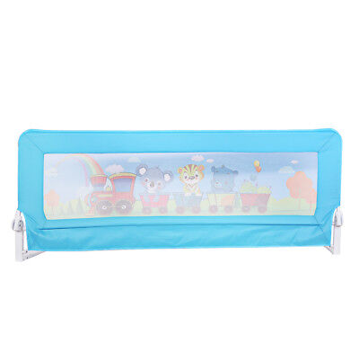 1.8m Blue Safety Bedrail Bed Rail Cot Guard Protection Child toddler Kids Baby