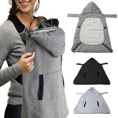 Warm Wrap Sling Baby Carrier Windproof Baby Backpack Blanket Carrier Cloak Cover