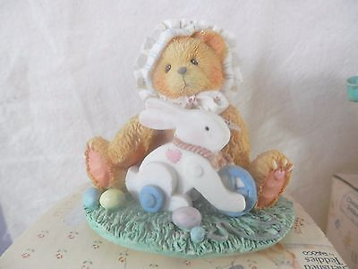 "Enesco 1994 Cherished Teddies, Melissa 103829 w/ Cert/Au in Box "" Need a Friend"""