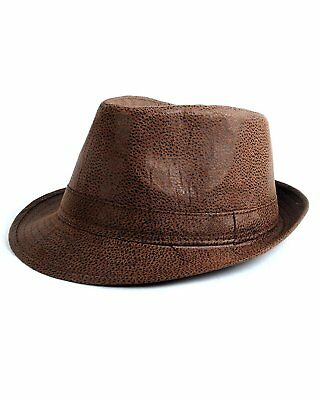 89a4e7a5d9895 MEN S ALL SEASON Fashion Wear Fedora Hat Everyday Use with Black ...