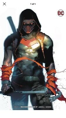 Red Hood Outlaw 27 Putri Variant Sold Out Free Shipping!