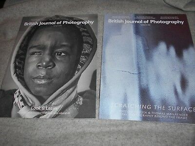 2 x British Journal of Photography 2017 April August
