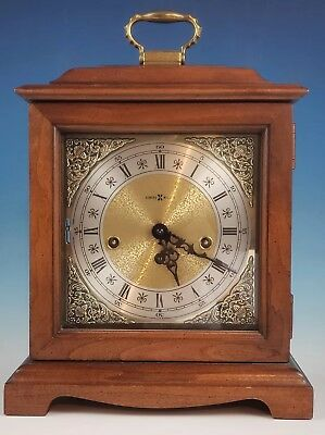 Howard Miller GRAHAM BRACKET 612-437 8 Day Keywound Chime Mantle Clock