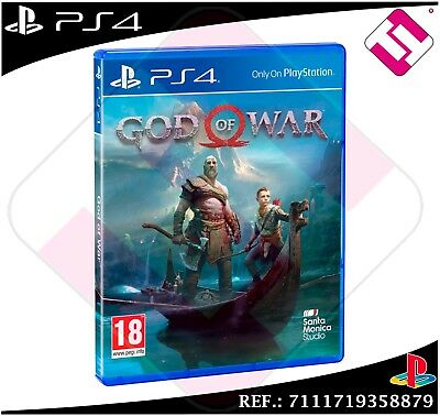 God Of War Set Ps4 Physical New Sealed Playstation 4 The God Of The War