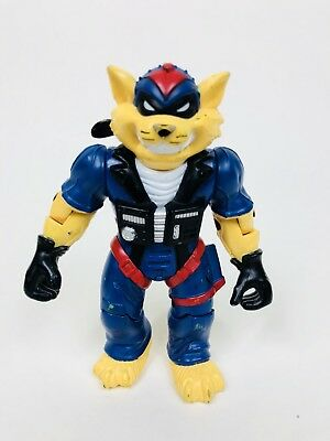 "Vintage 1994 REMCO TOYS Hanna Barbera 5"" Swat Kats T-Bone Action Figure 90s Toys"