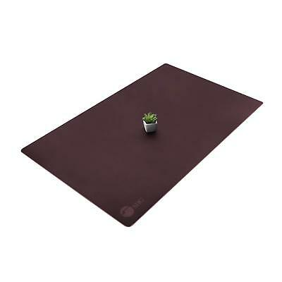 "SIIG Artificial Leather Smooth Desk Mat Blotter Protecter - 36"" x 22"" Desk Pad -"