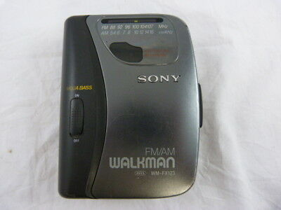 vintage: Sony walkman radio cassette player WM-FX123