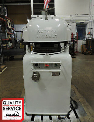 Record Automat Commercial Automatic Dough Divider / Rounder