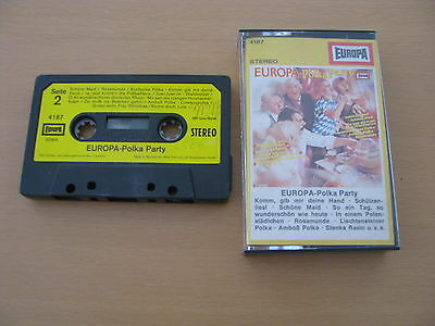Europa Polka Party Orchester Franzl Hepp Stereo HiFi Low Noise MC
