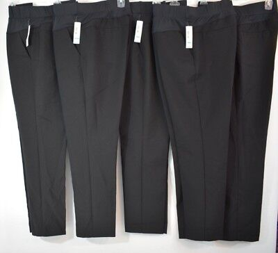 New Small or Medium Short (7/8 Length) Black Duo Maternity Pants,    Was $36.00
