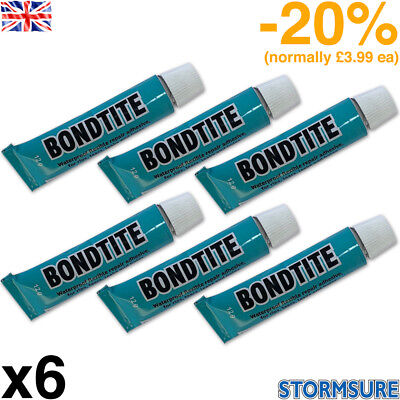 6 x 12g Bondtite Glue Multipurpose Jewellery Crystal Craft Rhinestone Repair
