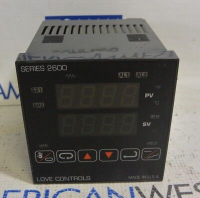 Love Controls 26150 Series 2600 Temperature Controller