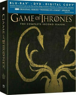 Game of Thrones - The Complete Second Season Greyjoy [Blu-ray] New and Sealed!!!