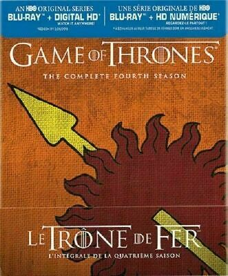 Game of Thrones - The Complete Fourth Season Martell [Blu-ray] New and Sealed!!!