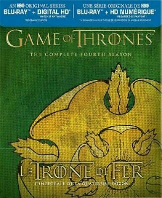 Game of Thrones - The Complete Fourth Season Tyrell [Blu-ray] New and Sealed!!!