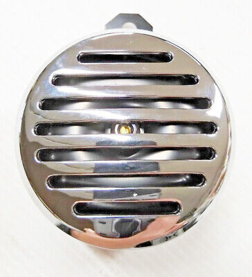 Universal Custom 12 Volt Horn with Chrome Plated Cover For Harley Davidson