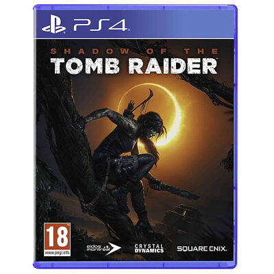 Sony Playstation 4 Shadow of the Tomb Raider  PS4 UK Multi uncut dt.Sprache