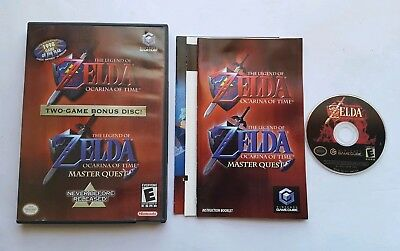 The Legend Of Zelda Ocarina Of Time Master Quest Nintendo Gamecube