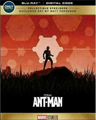 Ant-Man - Limited Edition Steelbook [Blu-ray] New and Sealed!!