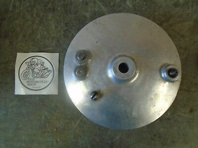 "Norton Front Brake  Plate 8"" Single Leading Shoe (S.l.s) With Cam"