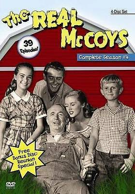 The Real McCoys: Complete Season #4 (Brand New 4-Disc Set!)