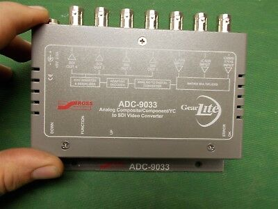 Ross ADC-9033 Analog Composite/Component/YC to SDI Video Converter